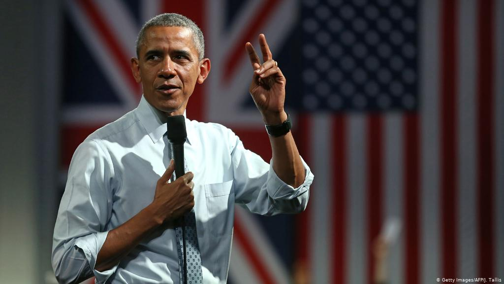 Pitchen als Obama
