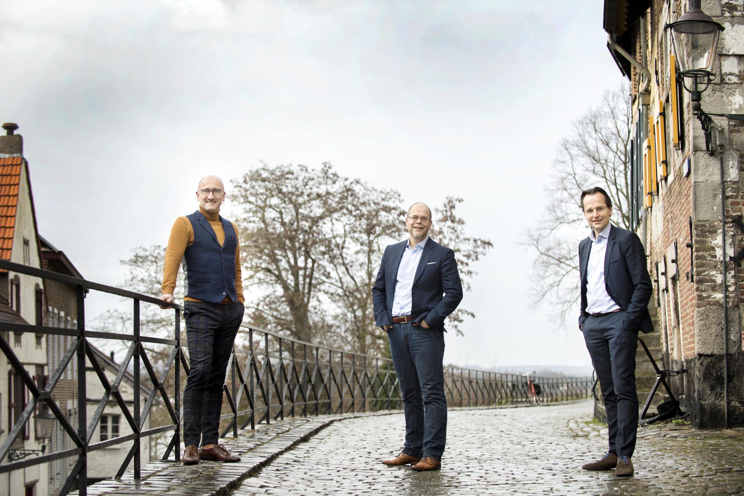 Ramon Niessen, Mark Hendriks en Jol Stoffers