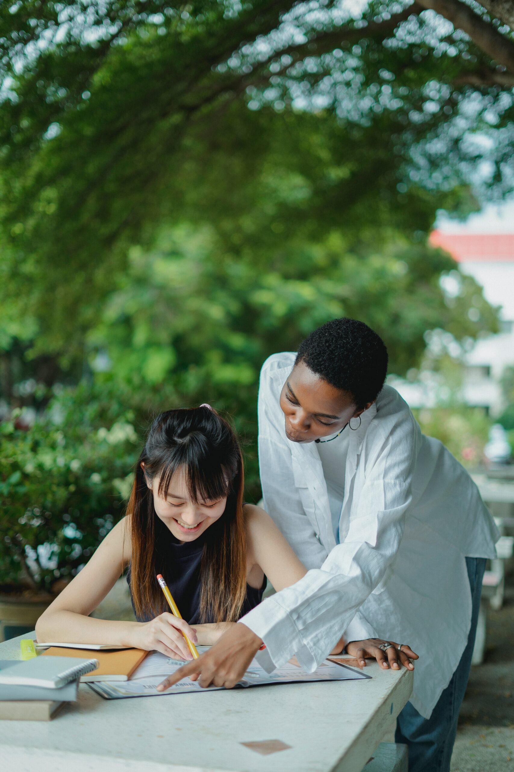 Samen studeren en elkaar helpen