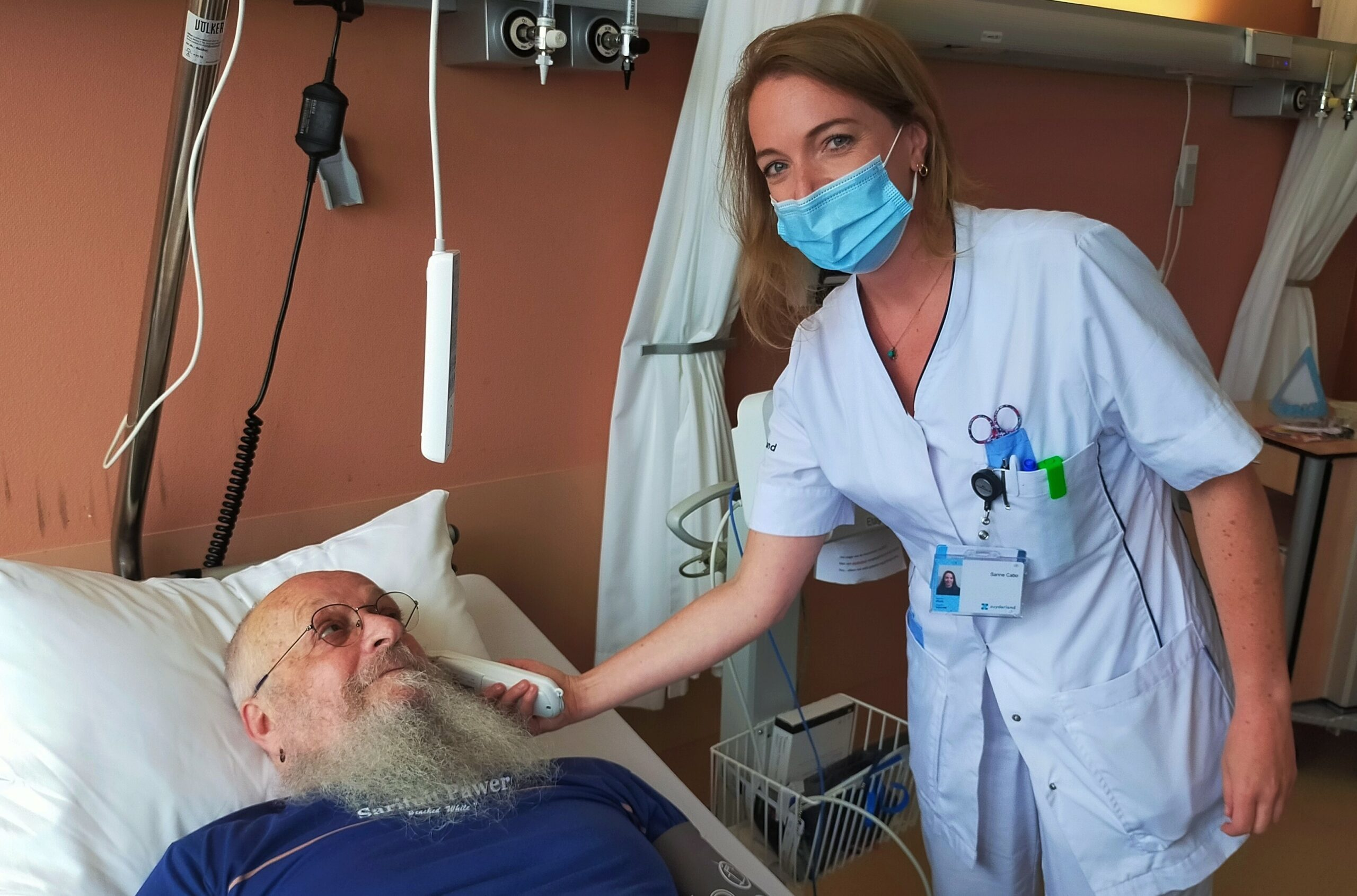 Sanne Cabo verpleegkundige